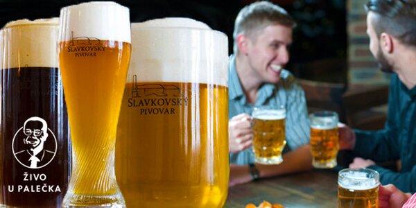 Degustace Slavkovského piva - tři piva za cenu dvou