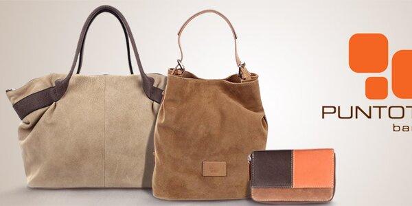 Puntotres - dámské kožené kabelky a peněženky ze Španělska