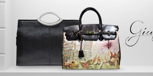 Giulia - luxusní ručně vyráběné italské kabelky