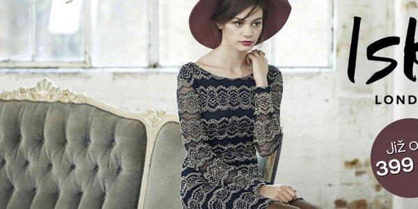 Romantické i extravagantní barevné letní šaty Iska