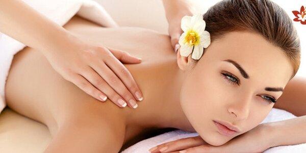 60minutová thajská masáž dle výběru v salonu NamJai