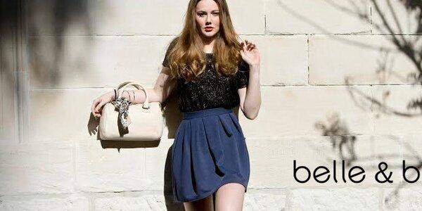 Šmrncovní kožené kabelky a šátky Belle & Bloom