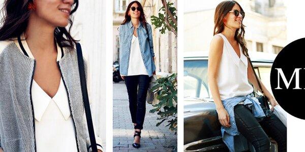 Minimalistická dámská móda plná elegance Mija