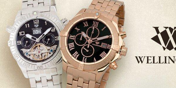 Jaký máte čas? Luxusní! - Pánské hodinky Wellington