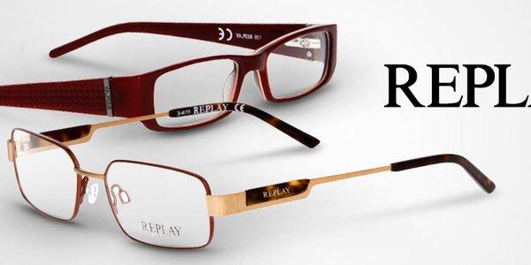 Stylové brýlové obroučky Replay již od 399,-