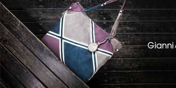 Nadčasové kožené kabelky Gianni Conti