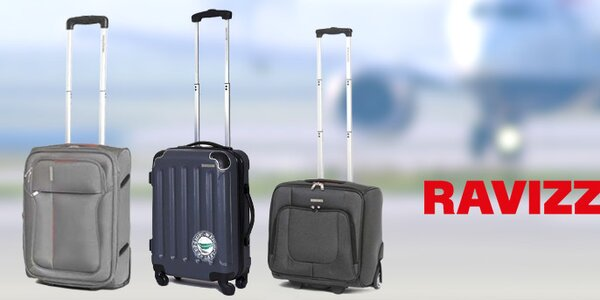 Ravizzoni - cestovní kufry včetně kabinových