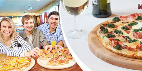 Dvě libovolné pizzy s rozvozem po Hradci Králové