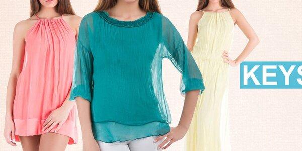 Zahalte se do hedvábí - barevná letní móda Keysha