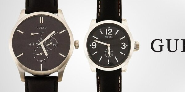 Luxusní pánské hodinky Guess