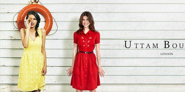 Šmrncovní šaty, halenky a svetříky Uttam Boutique