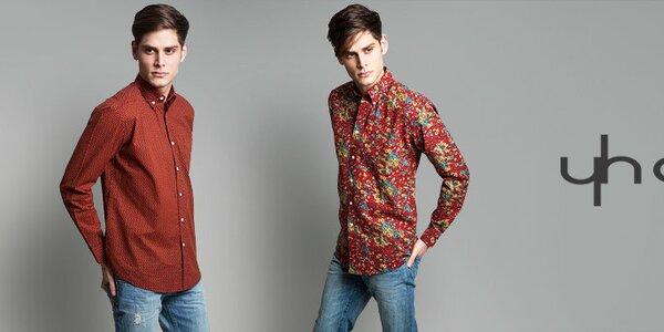 Yhoss - pánské košile s vůní Španělska a Indie