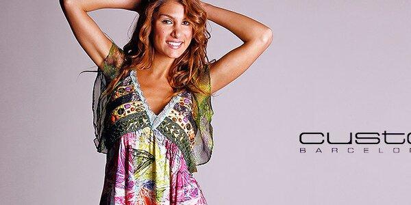 Dámská móda plná barev a vzorů Custo Barcelona