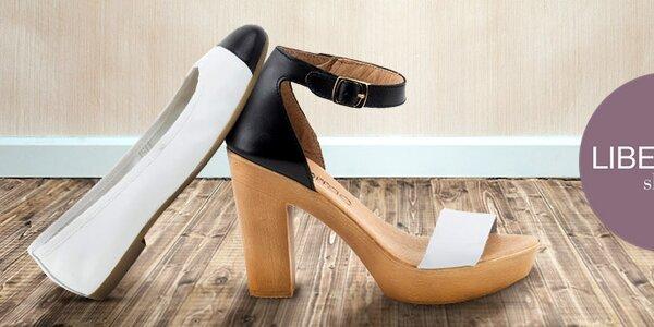 Letní kožené botičky pro dámské nožky Liberitae