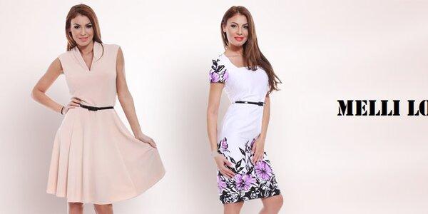 Melli London - šaty s puncem nadčasové elegance
