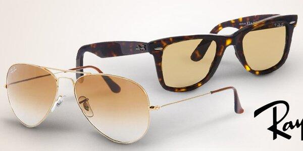 Mrkněte na sluníčko - sluneční brýle Ray-Ban