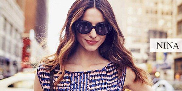 Moderní sluneční brýle pro dámská očka Nina Ricci
