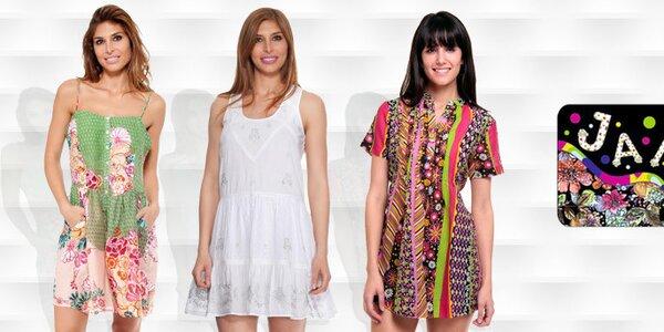 Záplava barev a vzorů - dámská móda Janis