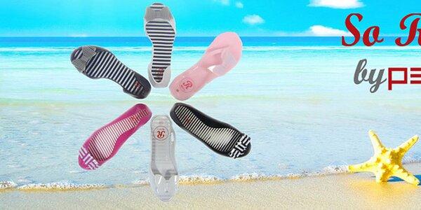 Trendy letní boty a sandálky v zářivých barvách So Real