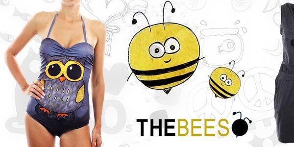 Veselá dámská móda pro léto plné úsměvů The Bees
