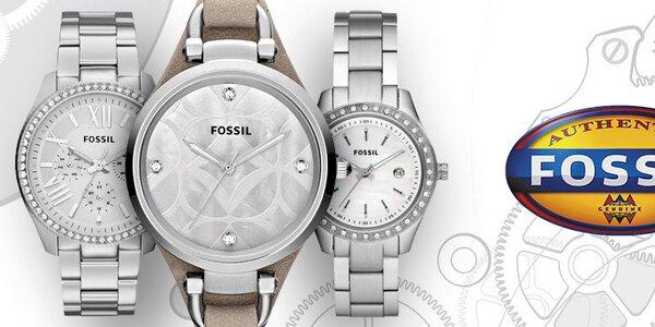 Jedinečné dámské hodinky a šperky Fossil