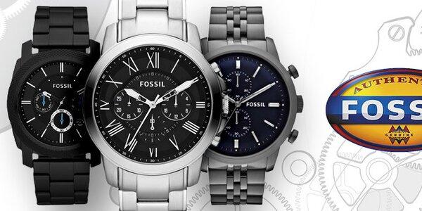 Tak jde čas - jedinečné pánské hodinky Fossil