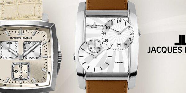 Je čas na elegantní pánské hodinky Jacques Lemans