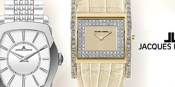 Je čas na elegantní dámské hodinky Jacques Lemans