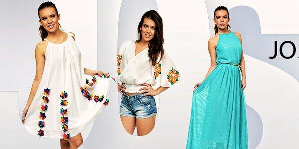 Rozkvetlá elegantní dámská móda Joseph Alessander