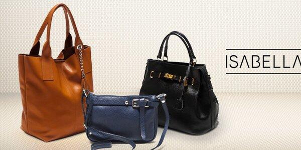 Pro náročné - luxusní kožené kabelky Isabella Rhea