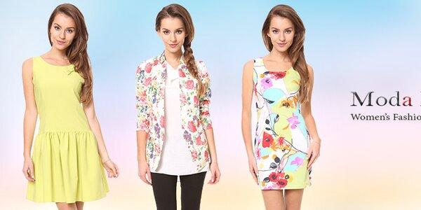 Moda Prym - barevné šaty a tuniky pro pravou dámu