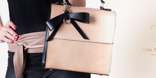 Neobyčejné kožené kabelky z Itálie Tina Panicucci