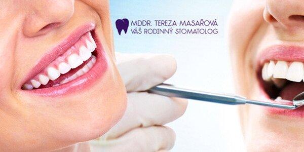 Dentální hygiena (50-60 min) včetně pískování