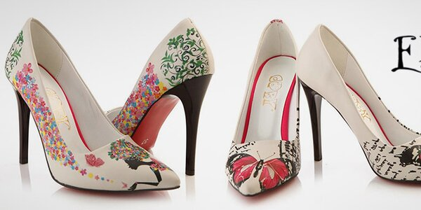 Barevné dámské boty plné svěžích potisků Elite Goby