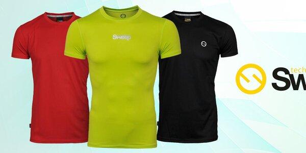 Pánská sportovní trička, tílka a mikiny Sweep