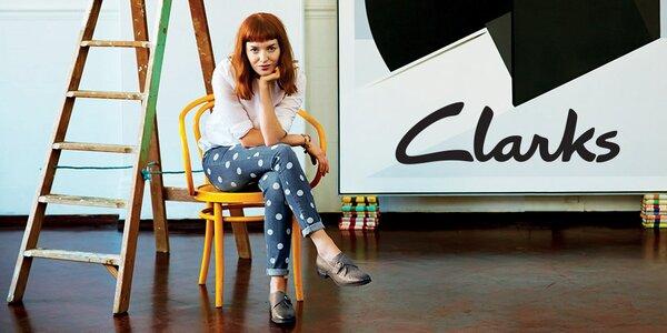 Pro volný čas i do společnosti - dámské boty Clarks