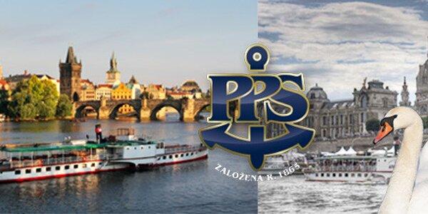 Plavba parníkem Vltava z Prahy do Drážďan