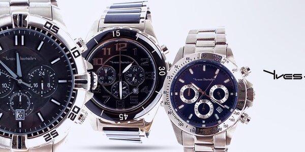 Držte čas pevně v rukou - pánské hodinky Yves Bertelin