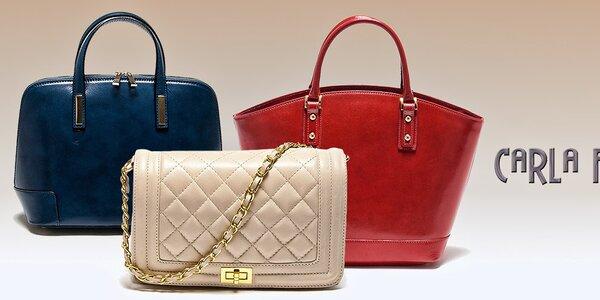 Překrásné dámské kabelky Carla Ferreri