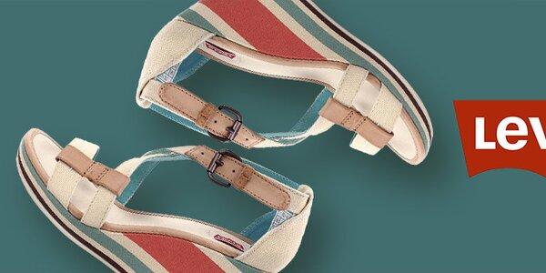 Dámské boty ve veselých i decentních barvách Levi's