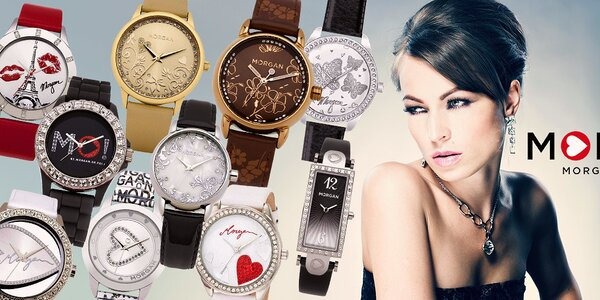 Morgan - dámské hodinky pro každou ručku