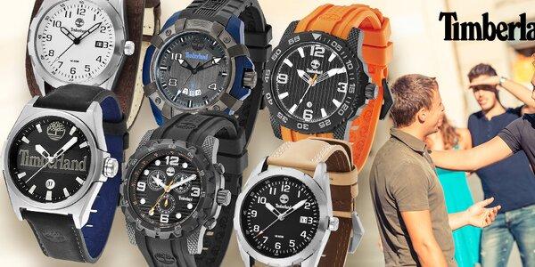 Timberland hodinky pro aktivní muže, do každého počasí
