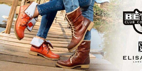 Rozmanité dámské boty Betsy, Elisabeth již od 299,-