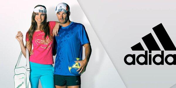 Dámské sportovní boty a oblečení Adidas