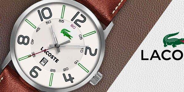 Nastavte ruku stylovým pánským hodinkám Lacoste