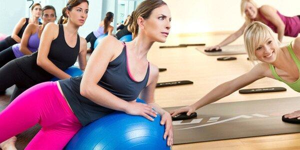 5 vstupů na Pilates, Hathajógu nebo Flowin (60 min)
