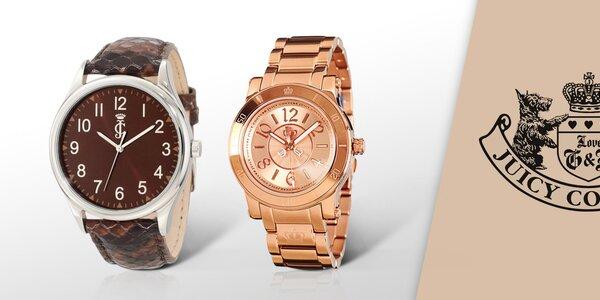 Zkrášlete své zápěstí hodinkami Juicy Couture