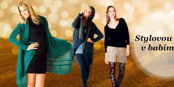 Dámské svetry, kardigany a boty - vše skladem!