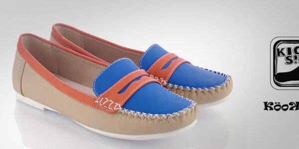 Barevné dámské boty a sandálky Kickside a Kookside od 199,-