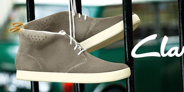 Elegantní i pohodová pánská obuv Clarks